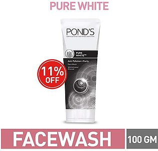 11% OFF ON POND'S PURE WHITE FACE WASH 100G