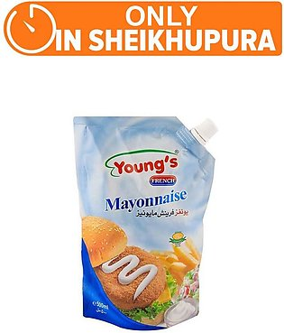 Young's French Mayonnaise 500gm (One Day Delivery in Sheikhupura)