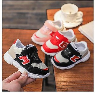Spring Girls Casual Shoes Boys Running Shoes Children's Non-slip Shoes Tide