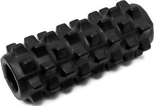 【Special Sale】5×13 inch Deluxe Foam Grid Sports Yoga Massage Roller Injury/Physio/Gym/Muscle Repai (Black)