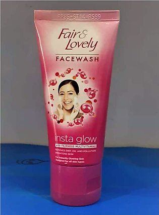 Fair and lovely instant glow facewash