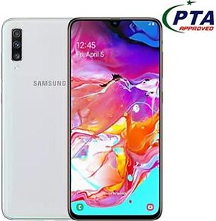 "Samsung Galaxy A70 Mobile Phone - 6.7"" Display - 6GB RAM - 128 GB ROM - Fingerprint"