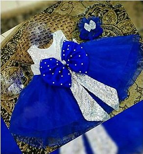Silk and Net Girls Baby Children frocks For Party Kids Dresses(new)
