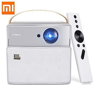 XGIMI CC Aurora Mini Portable DLP Projector Home Theater Android Wifi 3D Supp...