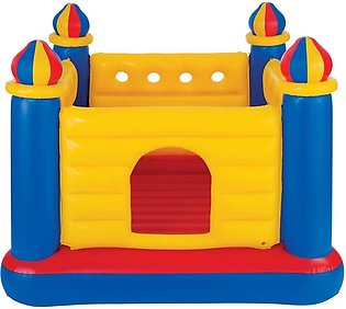 Kids Yellow Inflatable Jumping Castle Bouncer (69 inches)