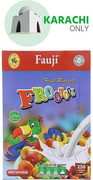Fauji Fruit Ringlets Frootooz Cereal 250g