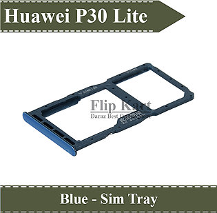 Huawei P30 Lite SIM Tray Sim Jacket Sim Slot Sim Door For P30 Lite - Blue