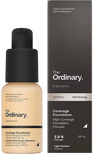 The Ordinary - Coverage Foundation - 2.0 N Light Medium - 30ml