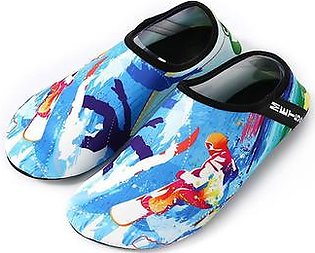 Beach Diving Shoes Swimming Shoes Barefoot Soft Bottom Patch Shoes Yoga Shoes