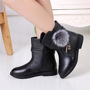 Toddler Infant Kids Baby Princess Fashion Shoes Fashion Leather Boots