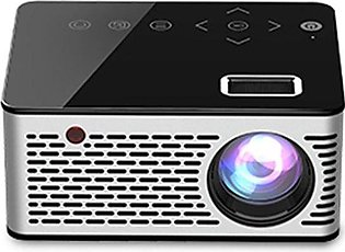 SE Mini Micro LED Cinema Portable Video HD USB HDMI Projector for Home Theate...