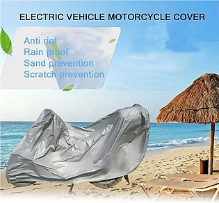 Newly Full Motorcycle Covers Home Outdoor Anti-UV Motorbike Dust Proof Motor Bi…