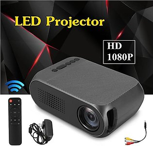 YG320 HD 1080P Portable Mini LED Video Projector Home Cinema Theater TV USB HDMI