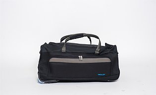 Rolling Duffel Trolley Bag - Black
