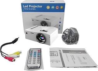 Video Projector UC18 1080P HD Home Entertainment LCD Theater USB HDMI Project
