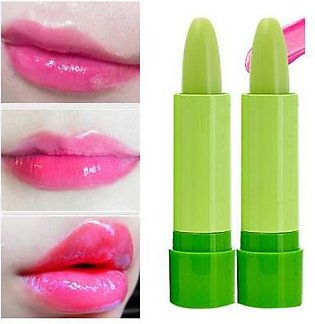 Pack Of 2-High Quality Natural Golden Pink Lipstick - Green