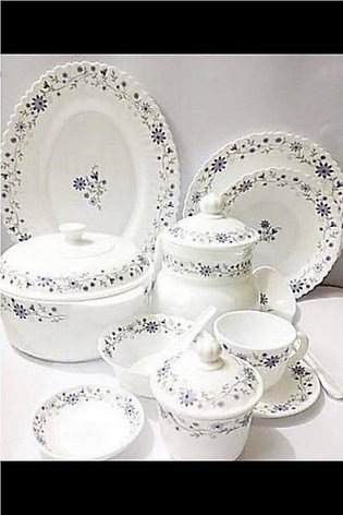 Marble Dinner set For 8 Person -  72 Pieces