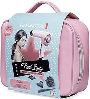 Remington Pink Lady Retro Hair Dryer Gift Pack