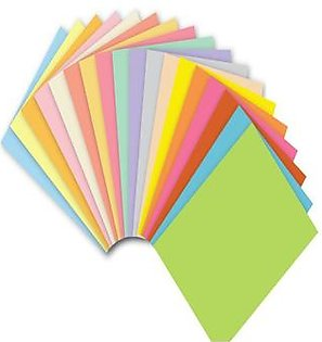 Pack Of 300 Color Paper 80 Gm A4 Size - Multicolour