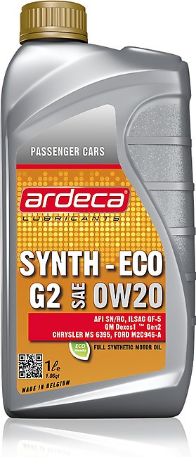 Ardeca SYNTH-ECO G2 0W20 1 Liter