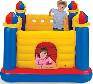 Intex Jumpp O Lene Castle Inflatable Bouncer, for Ages 3-6