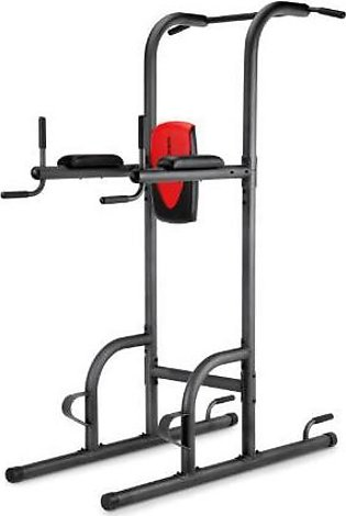 Power Tower Rack Chin Up Pull Up Stand Bar Leg Raise Home Gym Workout For Str...