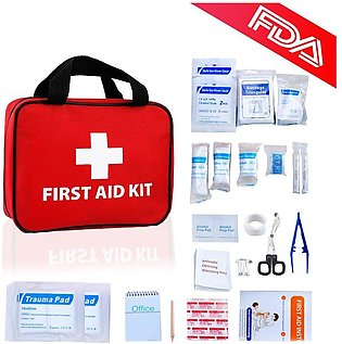First Aid Kit Home Auto Emergency Safety Kits Personal Medical Supplies Refil...