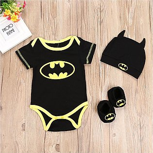 Toddler Newborn Baby Boys Girls Cosplay Costume Romper Hat Footwear Outfits Set