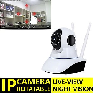 HD Rotating IP Wifi Camera Rotatable Live View & Live Rotation V380