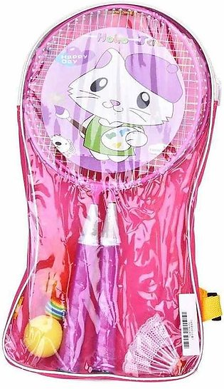 1 Pair Colorful Children's Badminton Rackets Sports Cartoon Suit oy for Outdoor…