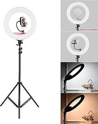 36 CM Selfie Ring Light without Tripod Stand - LED Ring Light -36 cm