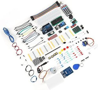 Upgraded Starter Kit for Arduino UNO R3 Higher Level Starter Learning Kit for Arduino