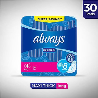 Always Thicks Sanitary Pads, Long, Trio Pack