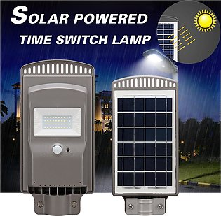 【To Global】20W Led Solar Street Light Intelligent Time Switch Control Power L...