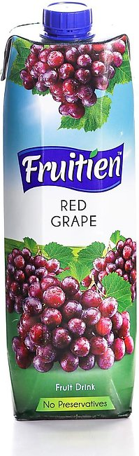 FRUITIEN RED GRAPE JUICE – 1LTR