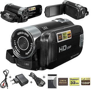 "2.7"" Digital Video Camcorder 1080P Camera Black"