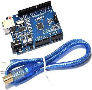 Arduino Atmega 328P R3 UNO SMD With Cable