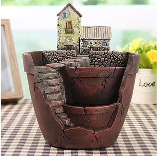 Sky Garden Planter Herb Flower Cactus Succulent Plant Resin Pot Box Container
