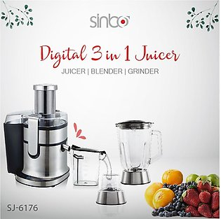 Imported Professional 3 in 1 Digital Juicer / Heavy Duty Semi Commercial Juic...