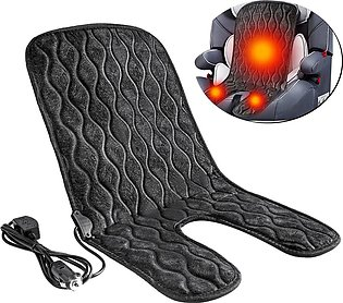 12V Car Baby Child Winter Car Seat Cover Carbon Fiber Heated Seat Heater Heatin…