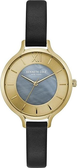 Kenneth Cole New York KC15187003 - Stainless Steel Wrist Watch for Women - Gold…