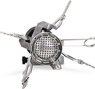 Outdoor folding camping stove portable gas oven picnic split kitchen