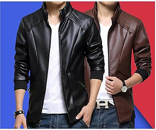 Pack of 2 Leather Jackets For Men