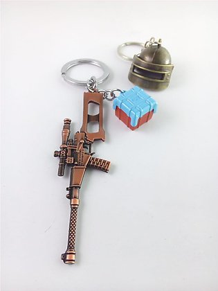 Pack of 2 pubg Keychains