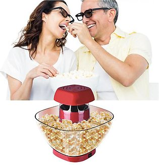 Popcorn Maker Household Mini Automatic Popcorn Machine DIY Corn Machine for P...