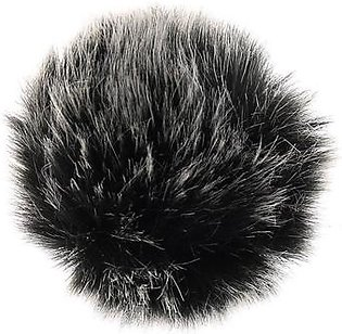 MeiYang Universal Lavalier Microphone Furry Windscreen Fur Windshield Wind Muff Soft for SONY RODE BOYA Lapel Lavalier Mic 5mm