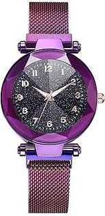 Luxury Women Watches Magnetic Strap Starry Sky Watch Fashion Wristwatch