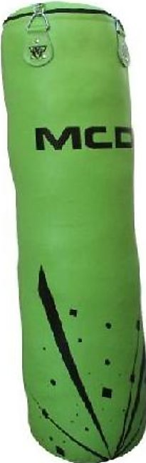 Punching Bag Boxing Training Green 4 Feet Unfilled