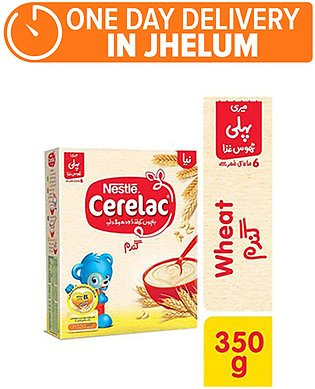 Nestle CERELAC Wheat 350g - Baby Food (One day delivery in Jhelum)