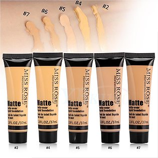MISS Rose Concealer + Matte Liquid Foundation - All Shades Are Available - Orig…